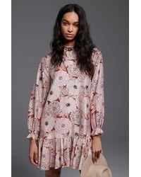 Geisha Designs Antonella Flounced Tunic Dress - Multicolour