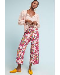 Ett:twa | Schuyler Printed Pants | Lyst