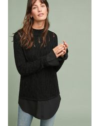 Moth - Layered Pointelle Jumper - Lyst