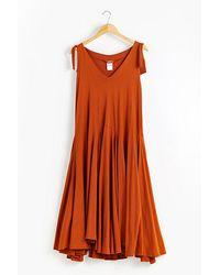 Kowtow Organic-cotton Jersey Dress - Brown