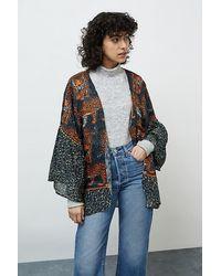 Bl-nk Leopard-print Kimono - Multicolour