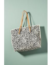 Anthropologie - Leopard-printed Tote Bag - Lyst