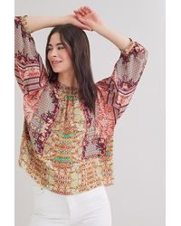 Bhanuni by Jyoti Patterned Blouse - Multicolour