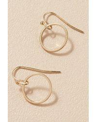 Anthropologie - Casoria Hoop Earrings - Lyst