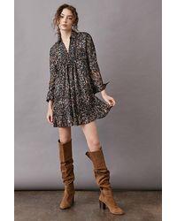 Anthropologie Phoebe Tunic Dress - Black