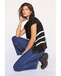 Maeve Striped Jumper Vest - Multicolour