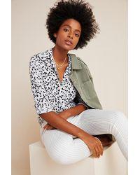 Cloth & Stone Blouse classique - Jaune