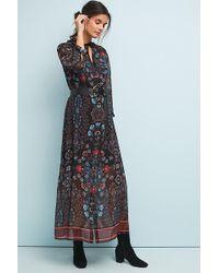 Anthropologie - Antha Floral-print Shirt Dress - Lyst