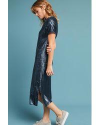 Moulinette Soeurs Interstellar Tunic Dress - Blue