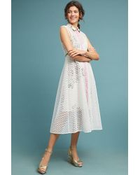 Tracy Reese - Cherry Blossom Shirtdress - Lyst