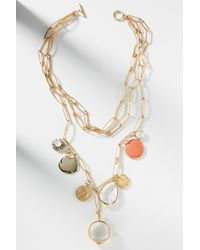 Anthropologie - Setting Sun Layered Necklace - Lyst