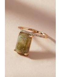 Melanie Auld - Gemstone Rectangle Ring - Lyst