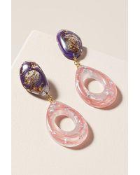 Ejing Zhang Kaare Earrings - Pink