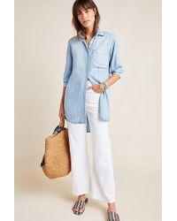 Cloth & Stone Robe-chemise en chambray Benicia - Bleu