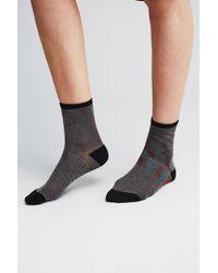 Becksöndergaard - Rosana Lurex Ankle Socks - Lyst