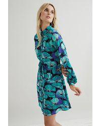 FABIENNE CHAPOT Frida Mini Dress - Blue