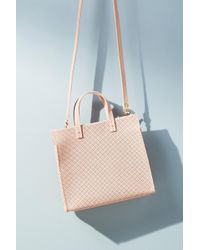 Clare V. - Simple Perforated Tote Bag - Lyst