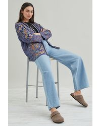 Bl-nk Embroidered Cardigan - Blue