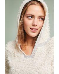 Akemi + Kin - Hooded Sherpa Pullover - Lyst