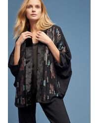 Bl-nk Jacy Sequin-embellished Kimono - Multicolour