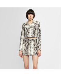 Manokhi Leather Jackets - Gray