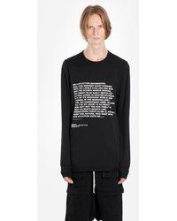 Rick Owens Drkshdw T Shirts - Black