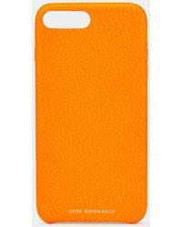 Anya Hindmarch Iphone 7/8 Plus Case - Orange