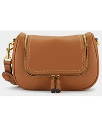 Anya Hindmarch Small Vere Soft Satchel - Brown