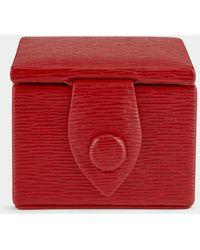 Anya Hindmarch Bespoke Ring Box - Red