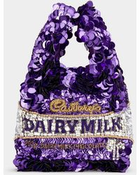 Anya Hindmarch Anya Brands Dairy Milk Tote - Purple