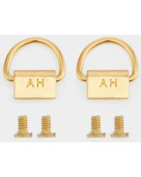Anya Hindmarch Phone Case D-rings - Metallic