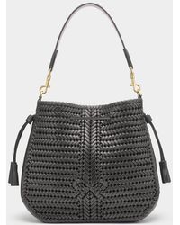 Anya Hindmarch Neeson Hobo - Black
