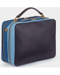 Anya Hindmarch - The Stack Double Satchel - Lyst