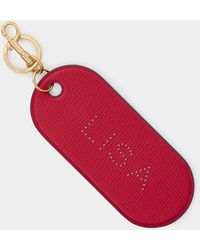 Anya Hindmarch Bespoke Hole Punch Key Charm - Red