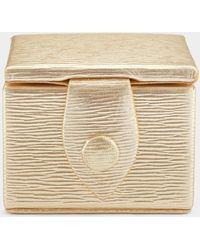Anya Hindmarch Bespoke Ring Box - Metallic