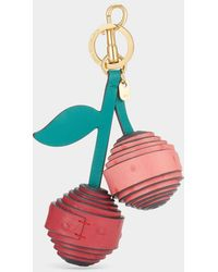 Anya Hindmarch Rolled Cherries Charm - Multicolour