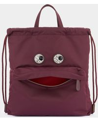 Anya Hindmarch Crystal Eyes Drawstring Backpack - Multicolour