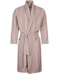 Paul Smith Signature Stripe Dressing Gown - Multicolor