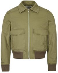 Lanvin Bomber Jacket - Green
