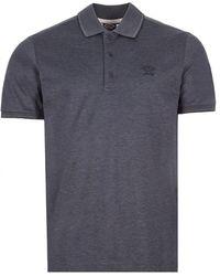 Paul & Shark Polo Shirt Twin Tipped - Grey