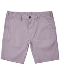 Paul Smith - Slim-fit Cotton-blend Twill Shorts - Lyst