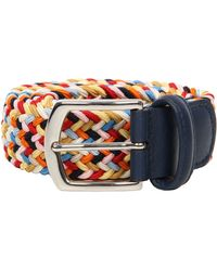 Andersons Woven Belt - Blue