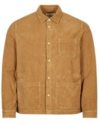 Folk Assembly Jacket Cord - Brown