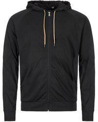 Paul Smith Sleepwear Zipped Hoodie - Black