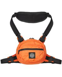 Stone Island Bum Bag – Orange