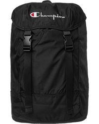 Champion Backpack Logo – Black