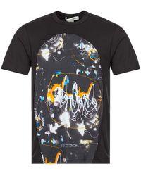 Comme des Garçons Futura Print T-shirt - Black