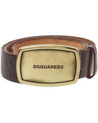 DSquared² Belt Plaque – Brown