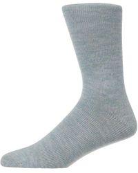 Folk Socks - Blue