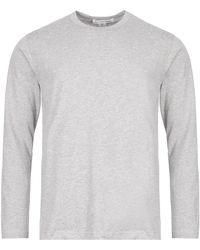 Comme des Garçons Long Sleeve T-shirt - Gray